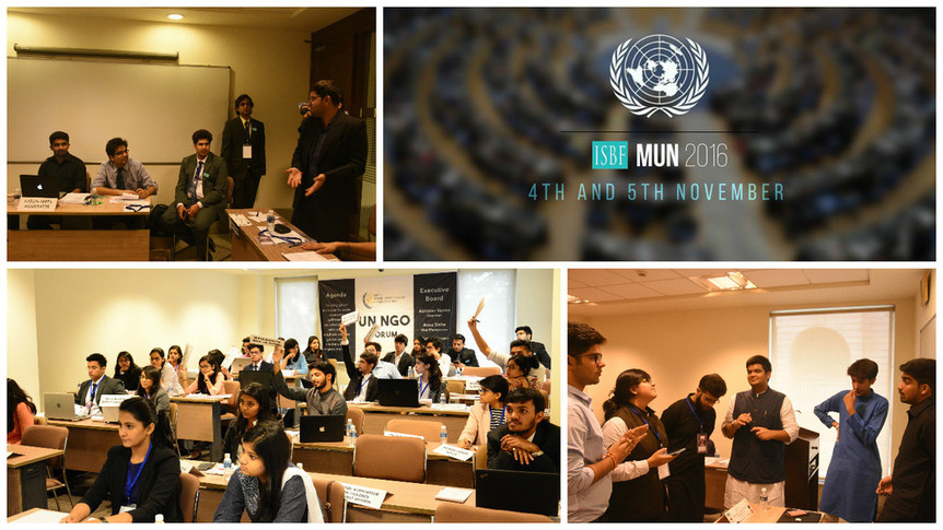 MODEL UNITED NATIONS CONFERENCE 2016