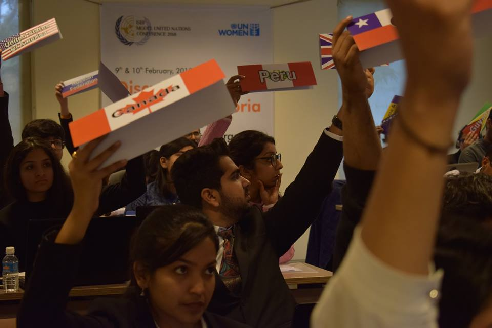 Gender Dysphoria Issues Debated Enthusiastically by Delhi Students at the 4th ISBF MODEL UNITED NATIONS (MUN) Conference |